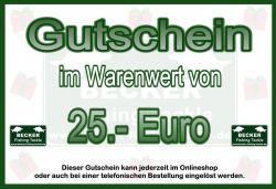 BFT Gutschein 25 Euro