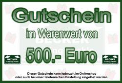 BFT Gutschein 500 Euro
