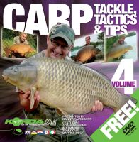 Korda Carp, Tackle, Tactics & Tips Vol.4